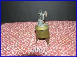 Antique 1890's Brass Miniature Live Toy Steam Engine