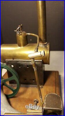 Antique 1934 Hansi Nigroviz Toy Steam Engine Really Different