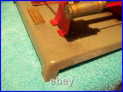 Antique Great Working Cat. No. 902 Weeden Steam Engine Toy With Colman Funnel