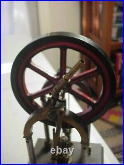 Antique Highly Detailed STEAM ENGINE MODEL