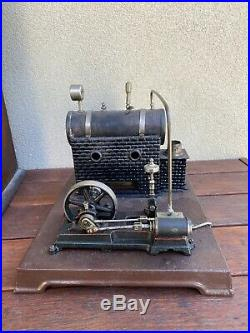 Antique Toy Model Scale Live Steam Engine By Marklin