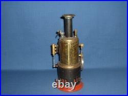 Antique Vertical Weeden Steam Engine with Multiple Accessories