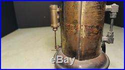 Antique Weeden Toy Steam Engine w Tin Burner-Restoration Project