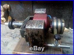 Antique live steam engine generator toy brass