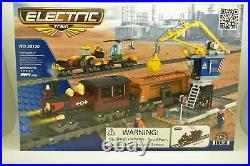 Aus25120 Imex. Ausini Elec Deluxe Train Set 964 Pcs Freight Yard Steam Engine