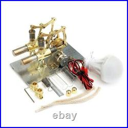 Balance Stirling engine Miniature model steam power technology scientific Toy