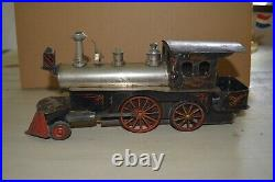 Beggs Lionel Live Steam Tin Toy Locomotive O Gauge Standard Gauge