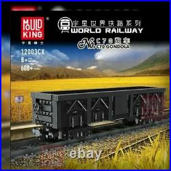 CITY New RC QJ Steam Locomotive Building Blocks Bricks Set Kid Toys