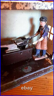 Carl Doll steam engine with accessories