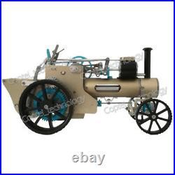 DIY Build-up Steam Engine Car Model Toy Mini Veteran Car Motor Gift Assembly Kit