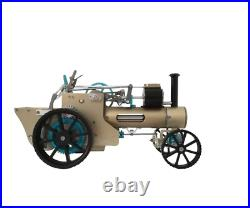 DIY Build-up Steam Engine Car Model Toy Mini Veteran Car Motor Gift Assembly Kit