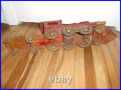 Early 1900s DAYTON Hillclimber HILL CLIMBER Train Steam Engine Friction Toy