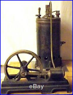 Early 20th Century Marklin Wurttemberg Number 10 Vertical Steam Engine Toy