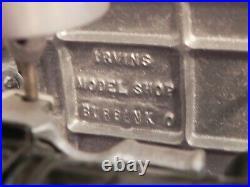 Eclipse Frick Co. Waynesboro PA Irving Model Shop Die-Cast Metal Steam Engine