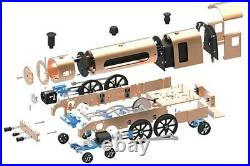 Engine Metal Steam Train Model Assembly Toy Mechanic Toy for 10 years & up