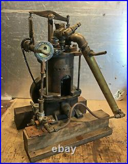 Experimental Live Steam engine using overhead cams, works