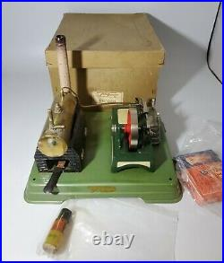 Fleischmann Steam Engine Made in West Germany with Box