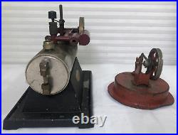 Ind-x electric steam engine- 1930s or 1940's RARE Vintage