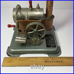 Jensen Manufacturing Co. Model Dry Fuel Fired Live Steam Engine