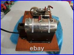 Jensen Steam Engine #55 Brass Tag