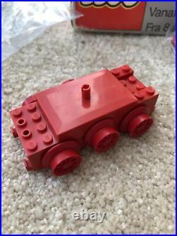 Lego 12V 7750 Locomotive steam Train 80s Boxed