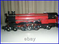 Lego Train Ruby Night Steam Engine Dark Red Emerald Night 10194 Custom New