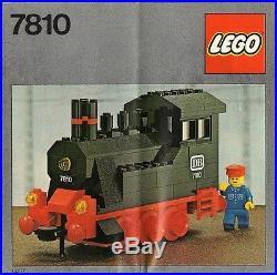 Lego Trains 7810 Push-Along Steam Engine NEW SEALED Cellophane 1980