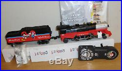 Lionel 83979 Disney Mickey Mouse Lionchief Steam Engine Toy Train O Gauge Remote