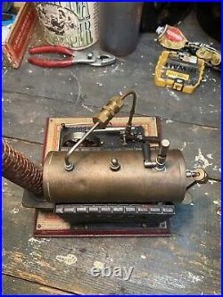 Live Steam Bing Stationary Model Engine Toy #451