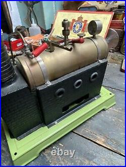 Live Steam Doll Et Cie Model Stationary Engine Plant Toy
