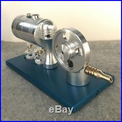 Live Steam Engine Model Toy with Boiler DIY Steam Heating Power Engine Motor Toy