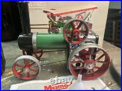 Live Steam Mamod Te1a Traction Engine Model Toy Steam Boxed
