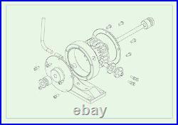 Live Steam Turbine Engine JT-II Model