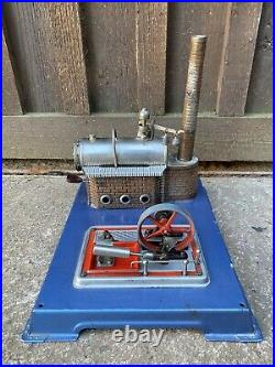 Live Steam Wilesco D8 Stationary Engine Plant Model Toy