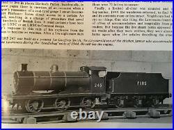 Live steam tender locomotive 0-6-0 LMS 4f LBSC design 1944 Steams well 2.5 gauge