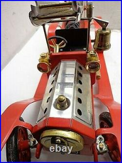 Mamod Fire Truck Fireman Steam Engine Toy FREE SHIPPING