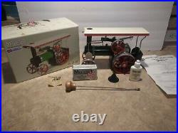 Mamod Steam Engine Tractor TE1A in Original box with Accessories Beautiful