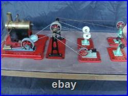 Meccano esl steam engine factory fabbrica