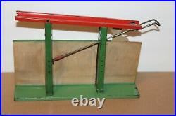 Nice Early Orotech Marble Toy Paper Litho & Tin Mechanical Steam Engine Toy