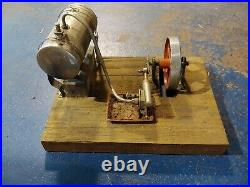 Old Toy Steam Engine untested as-is, German Wilesco brand D5