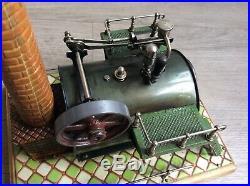 Original Steam Engine Dampfmaschine Bing plant Doll live no stuart antique toy