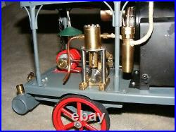 Portable DC Electric Generator with Steam Engine