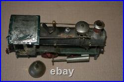 Prewar O Gauge Model Toy Train Locomotive Vintage Live Steam