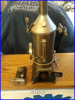 RARE! ANTIQUE DOLL VIRTICAL STEAM ENGINE ENGINE TOY NUMBER 858/p