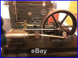 RARE BIG 1912 Bing Steam Engine Power Plant Single Cylinder Engine Dynamo