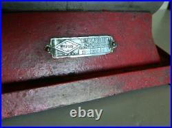 RARE Vintage Empire Metal Ware Corp Electric Horizontal Steam Engine 1930s Nice