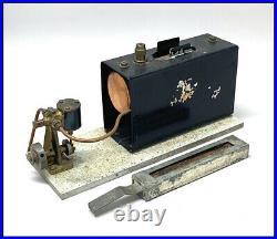 Rare 1930's Stuart Turner live steam boiler and S. T. Marine engine