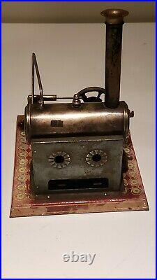 Rare Ernst Plank steam engine 425/2 Vulkan  1910 -1920s