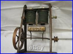 Rare Vintage Weeden No. 111 Electric Impulse Motor Steam Engine Toy Marine Type
