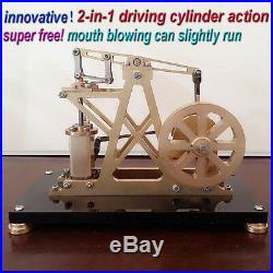 Reciprocate Steam Engine Model Toy Vertical Cylinder Steam Engine Generator Gift